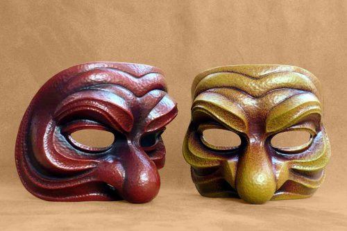 Medium Brighella Commedia Dell'Arte Mask