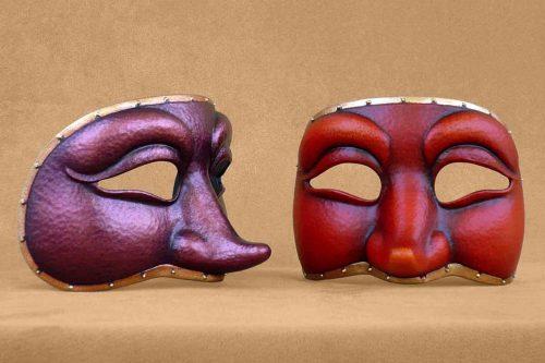 Colombina Commedia Dell'Arte Mask