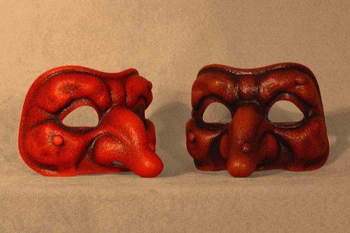 Punchinello Classical Commedia Dell'Arte Mask