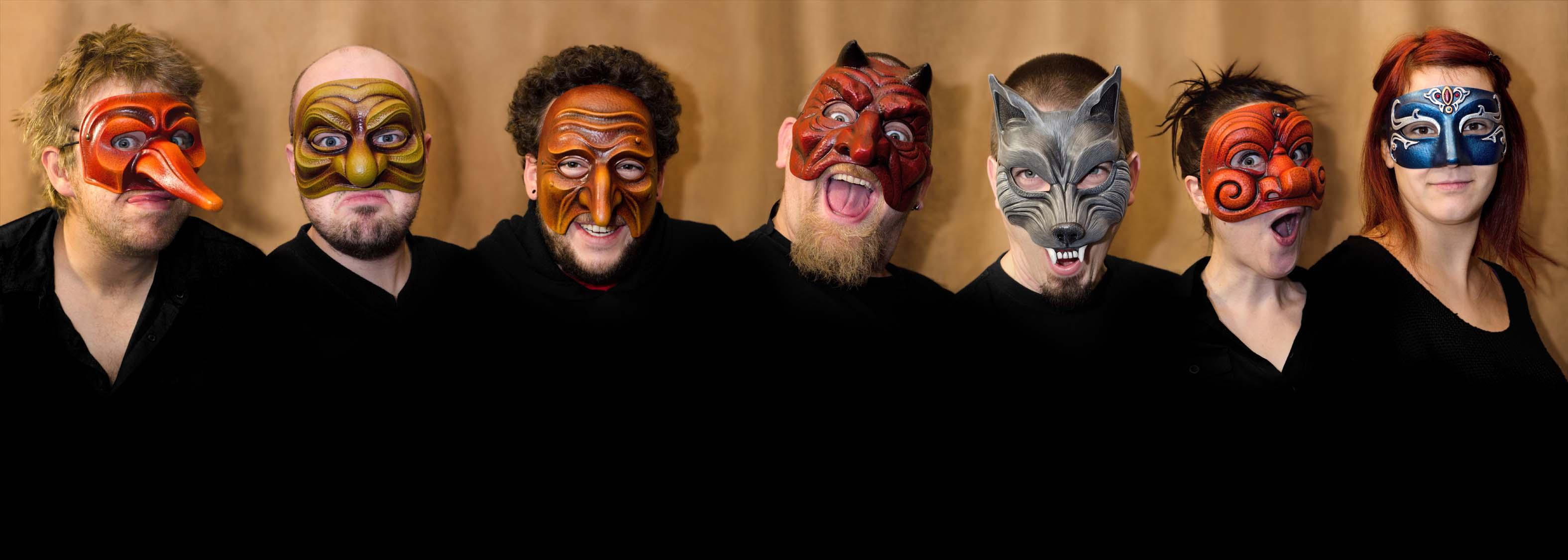 Atelier Pirate - Sélection de masques