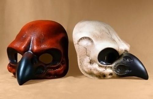Bird Skull Carnival Mask