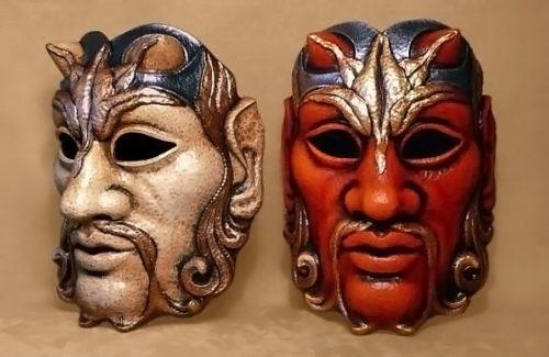 Satyre Carnival Mask