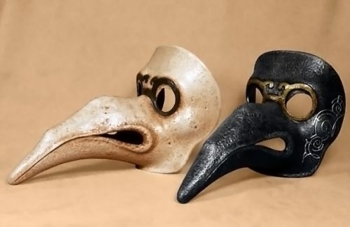 Plague Doctor Hook-Nosed Italian Mask