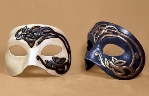 Celtic Dog Eye Mask