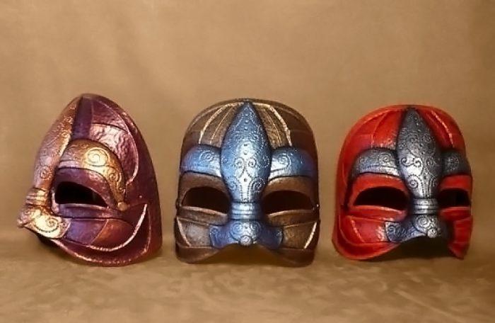 Fleurdelys Medieval Mask