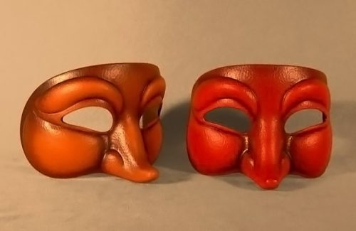 Curious Theatre Mask