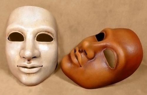 Woman Theatre Mask