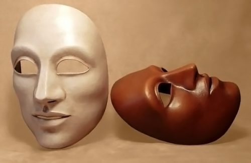 Neutral Large Theatre Mask